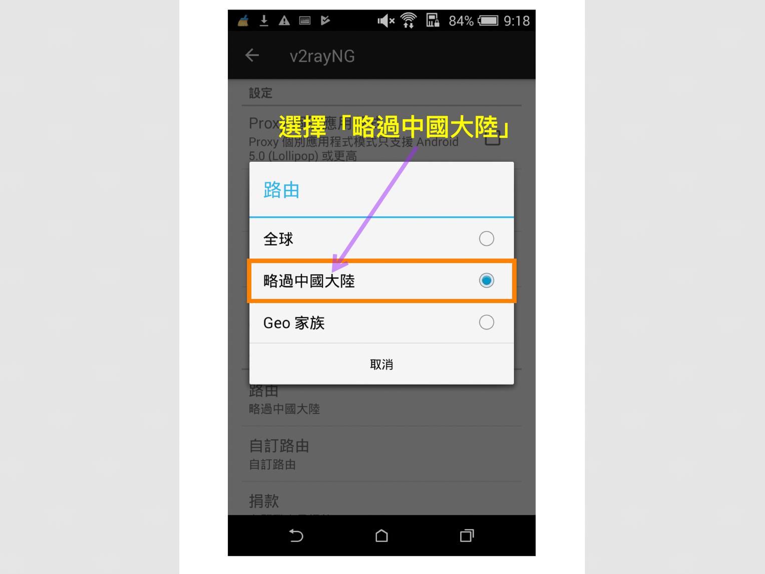 Android V2RayNG App(綠色紙飛機)下載,安裝及使用說明